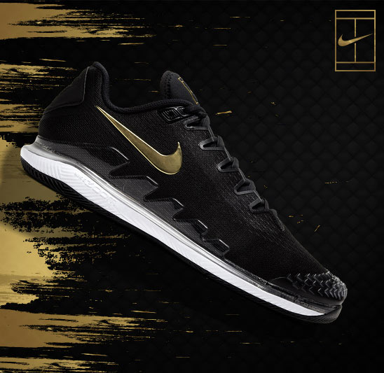 Nikecourt Black and Gold