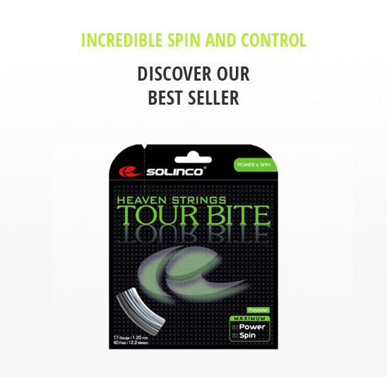 Our Best Selling Tennis String Solinco Tour Bite