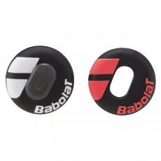 Antivibrateur Babolat Custom Damp Noir/Blanc Noir/Rouge