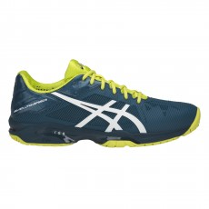Chaussure Asics Gel Solution Speed 3 Bleu Jaune SS18