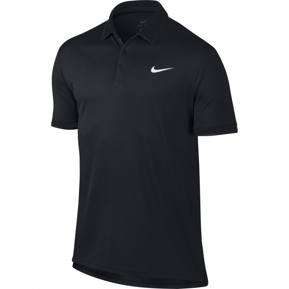 polo nike dri fit noir t 2018 extreme tennis. Black Bedroom Furniture Sets. Home Design Ideas