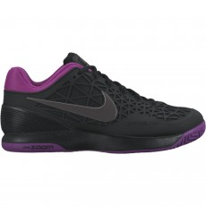 Chaussure Nike Zoom Cage 2 Femme Noir Violet