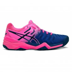 Asics Gel Resolution 7 Women Bleu Pink FW18