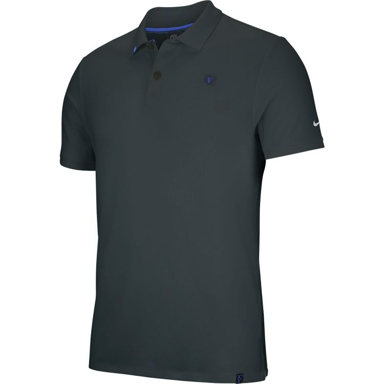 Polo Nike RF Roger Federer Essentials Midnight Spruce 2018