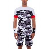 T Shirt Hydrogen Tech Camo Black