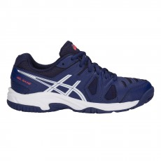 Chaussure Asics Gel Game 5 GS Junior Bleu FW18