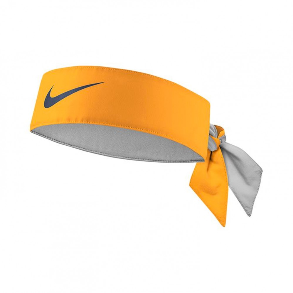 Headband Nike Dri-Fit Orange Peel Midnight Spruce Fall 2018 - Extreme-Tennis 20b29a19a98