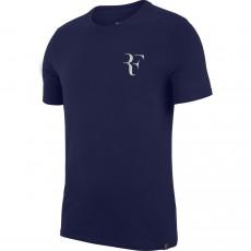 T Shirt Nike Roger Federer RF Blue Void Automne 2018