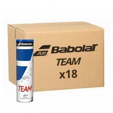 Carton 18 Tubes de 4 balles Babolat Team