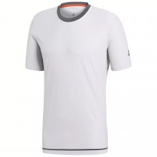 T Shirt Adidas Barricade Heather Grey 2018