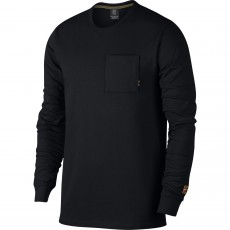 T Shirt Nike Long Sleeve Nikecourt Heritage Black 2018