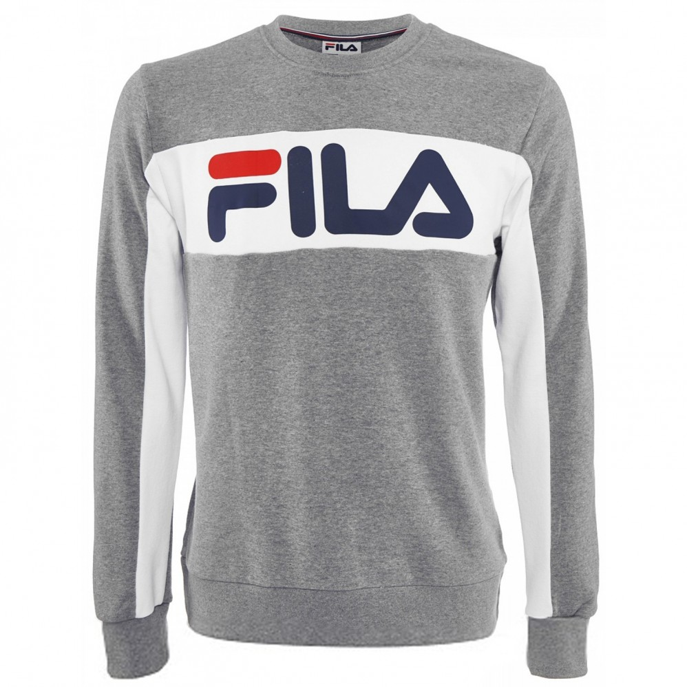 12044e1488b Sweat Fila Randy Gris - Extreme-Tennis