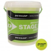 Baril de 60 Balles Vertes Dunlop Stage 1