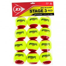Sachet de 12 Balles Mini Tennis Rouge