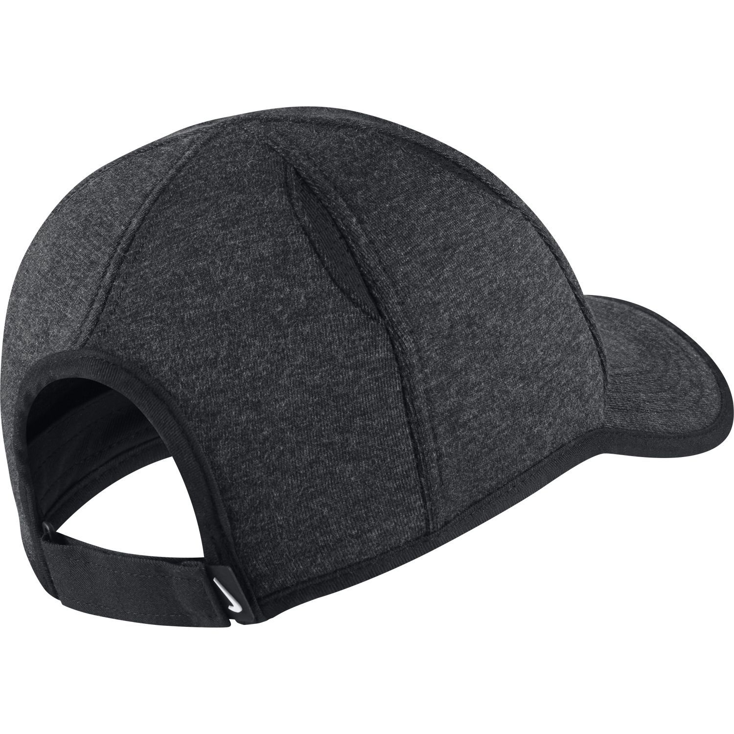 fed2f3e42d6 Nike AeroBill Featherlight Premium Cap Black Heather - Extreme-Tennis