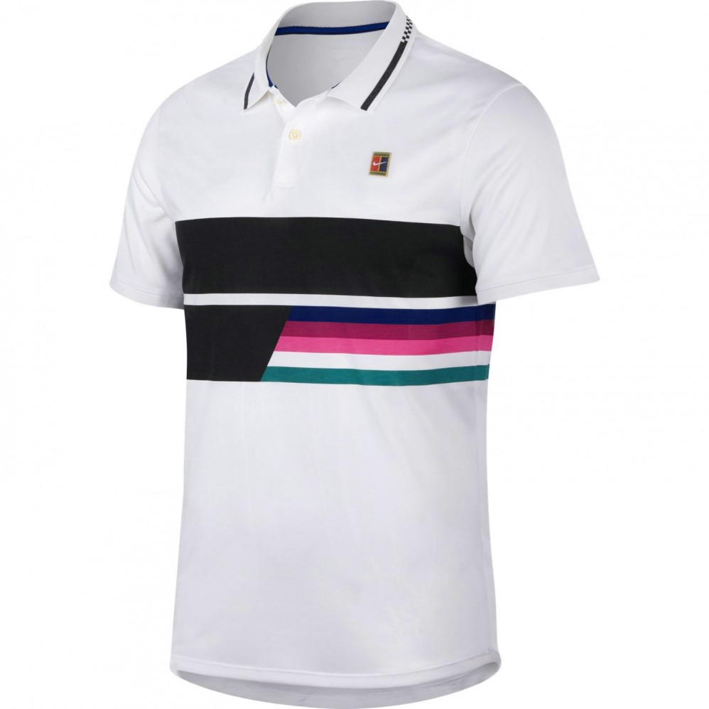 Polo Nike Advantage Blanc Australian Open 2019