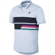 Polo Nike Advantage Half Blue Australian Open 2019