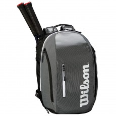 WILSON SUPER TOUR BACKPACK BLACK GREY