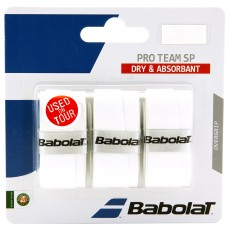 BABOLAT Pro Team SP Overgrip White x3