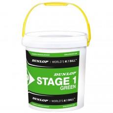 Dunlop Stage 1 Green Balls x 60