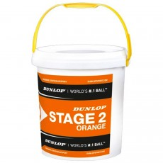 Baril de 60 Balles Orange Dunlop Stage 2
