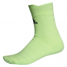 Adidas Alphaskin Crew Socks Glow Green