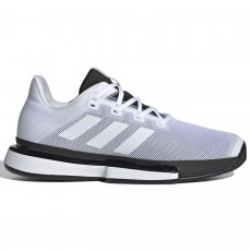 Chaussure Adidas SoleMatch Bounce Blanc / Noir