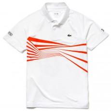 Polo Lacoste Djokovic Blanc Monte Carlo 2019