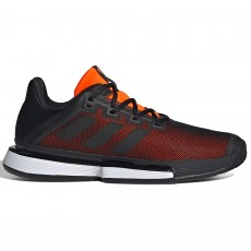 Chaussure Adidas SoleMatch Bounce Clay Noir / Orange