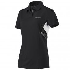 Head Club Technical Women Black Polo