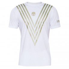 T Shirt Hydrogen Tech Victory White / Gold