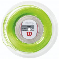 Wilson Synthetic Gut Power Green 200m Reel