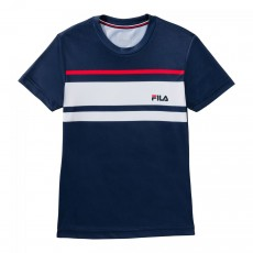 T Shirt Fila Junior Trey Bleu Marine