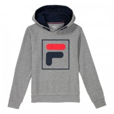 Sweat à capuche Fila Junior Harry Kids Gris