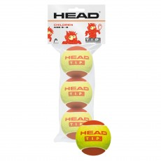 HEAD TIP Red x 3 Tennis Balls