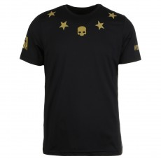 T Shirt Hydrogen Tech Stars US OPEN Black Gold