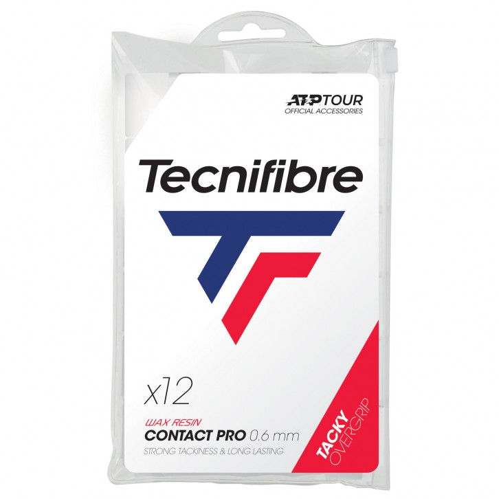 Surgrips Tecnifibre Pro Contact x 12 Blanc