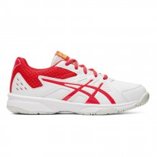 Chaussure Asics Court Slide GS Junior White / Laser Pink FW19
