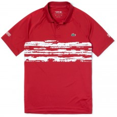 Polo Lacoste Djokovic Rouge 2019