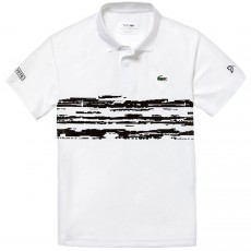 Polo Lacoste Djokovic White 2019