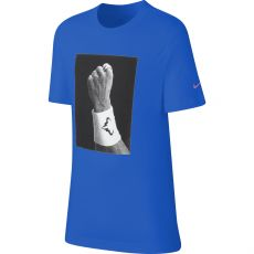 T Shirt Nike Junior Dry Rafael Nadal Blue Holiday 2019