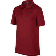 Polo Nike Junior Nikecourt Dry Crimson Automne 2019
