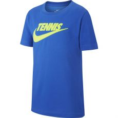 T Shirt Nike Junior Tennis Swoosh Blue