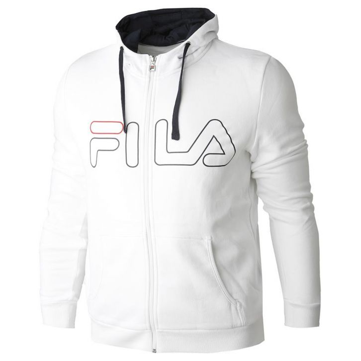 Fila Willi White Fullzip Hoody