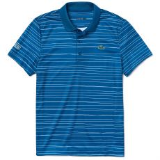 Polo Lacoste Stripe Blue