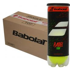 Box of 24 tubs of 3 balls Babolat Padel Tour