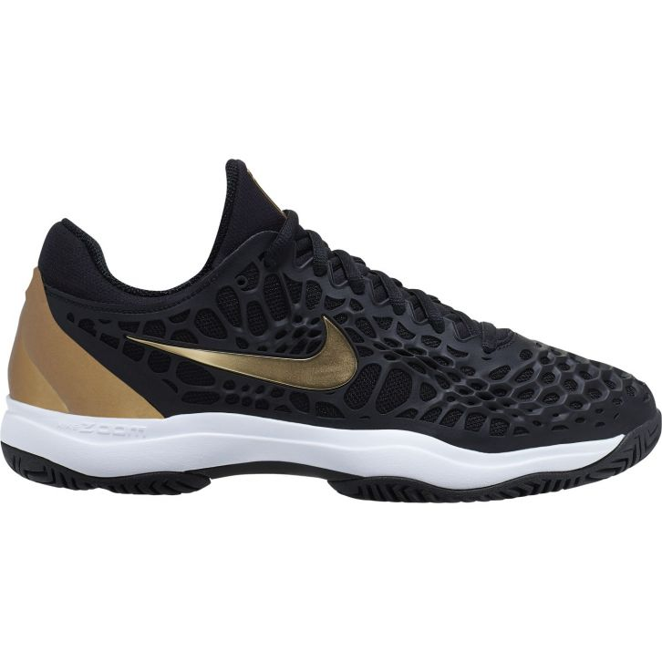 Chaussure Nike Zoom Cage 3 Noir Or Hiver 2019