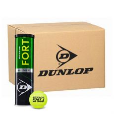 Carton de 18 Tubes Dunlop Fort All Court
