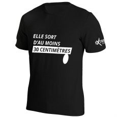 T Shirt Extreme-Tennis Coton Elle sort