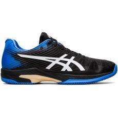 Chaussure Asics Gel Solution Speed FF Clay Black Blue Coast SS20